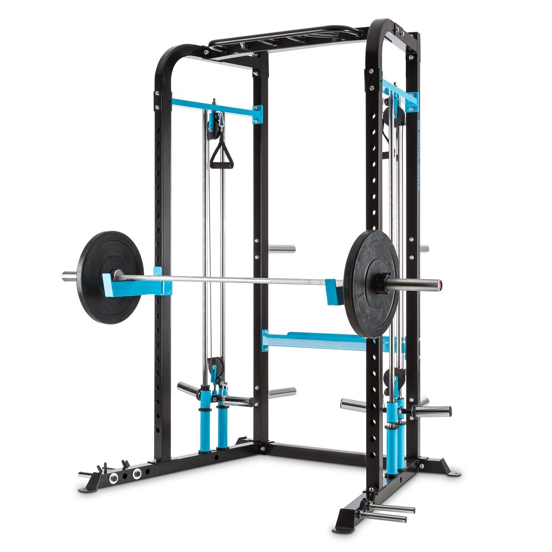 Capital Sports Tremendi Rack máquina de poleas con Barra de ...