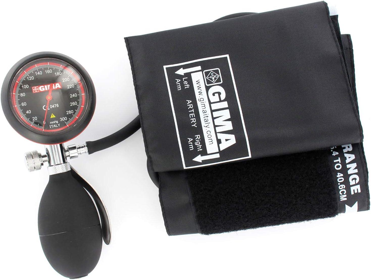 Medidor de presión arterial de Londres, esfigmomanómetro profesional, puño negro