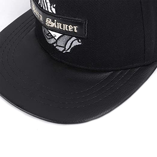NAAO 2019 New Girls Letter Baseball caps Bboy Gorras Planas Outdoor Sports Hats Women Men Casual Fitted Hip hop Cap Black at Amazon Mens Clothing store: