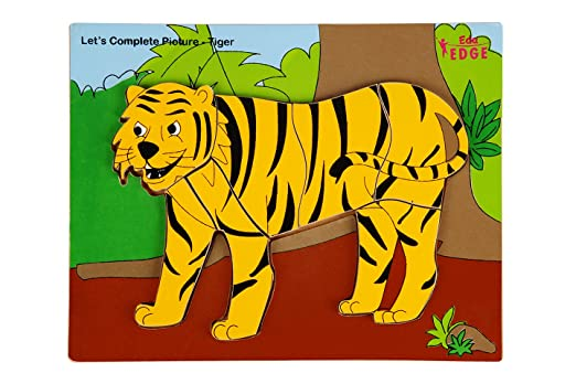 Eduedge Let's Complete Picture -Tiger