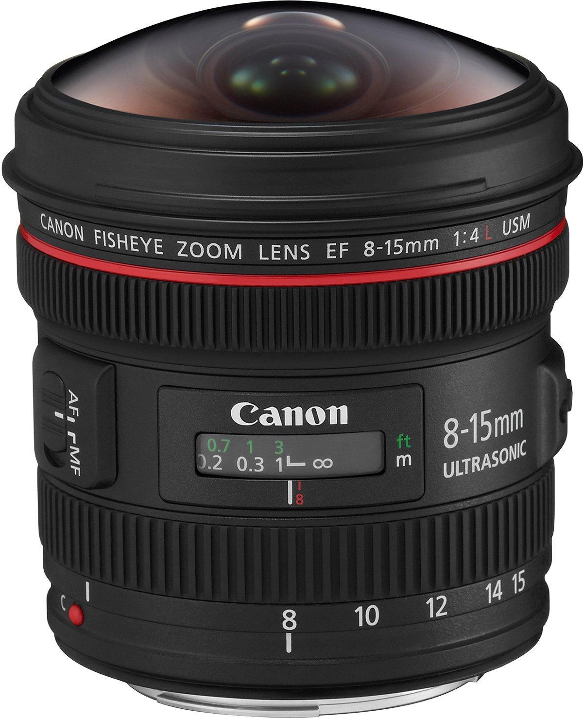 Canon EF 8-15 mm f/4L Fisheye USM Lens: Amazon.co.uk: Camera & Photo