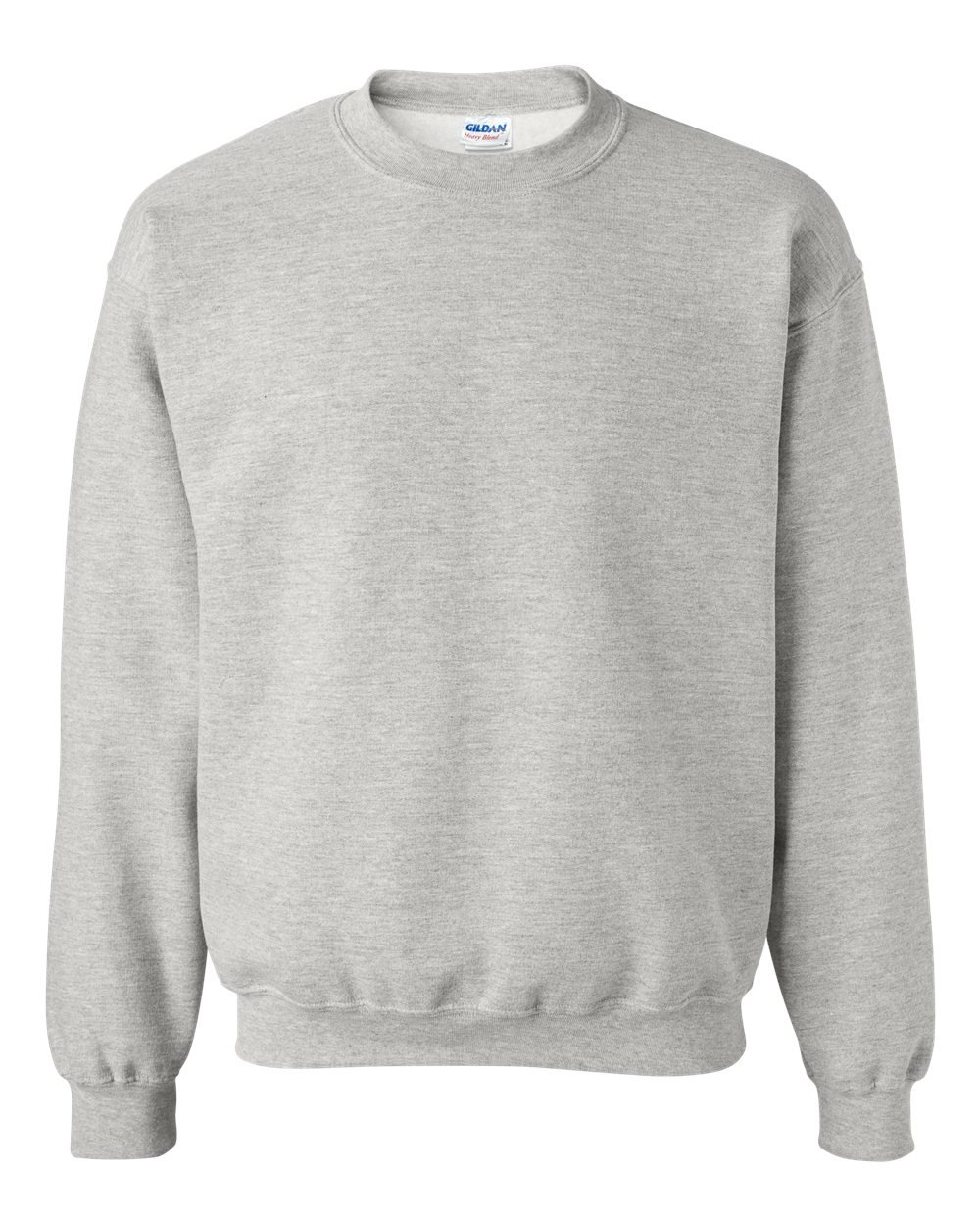 Gildan Heavy Blend Crewneck Sweatshirt, Ash Grey, XL