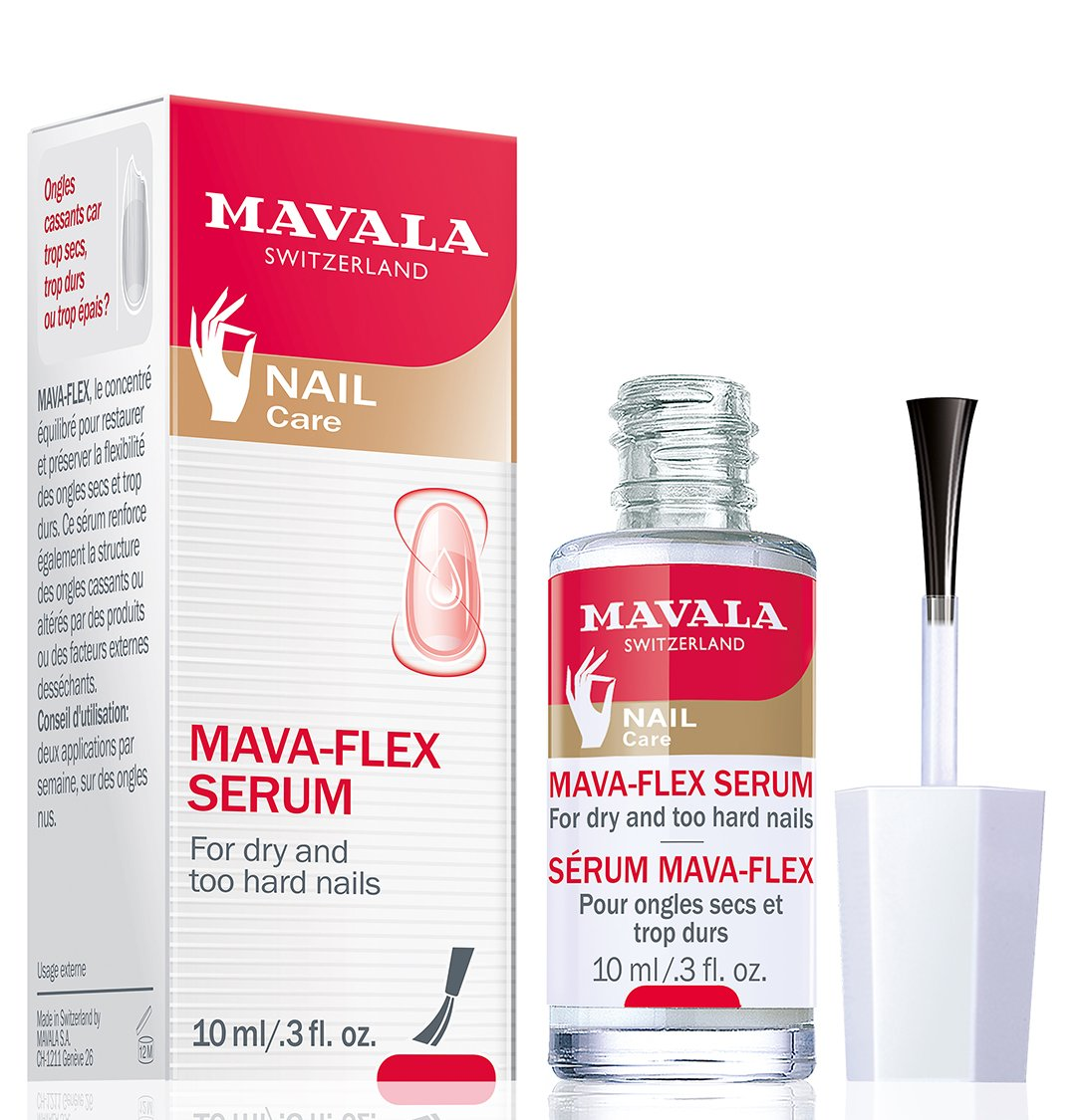 Mavala Mava Flex Serum for Dry, Hard Breaking Nails 0.34 Ounces 99801