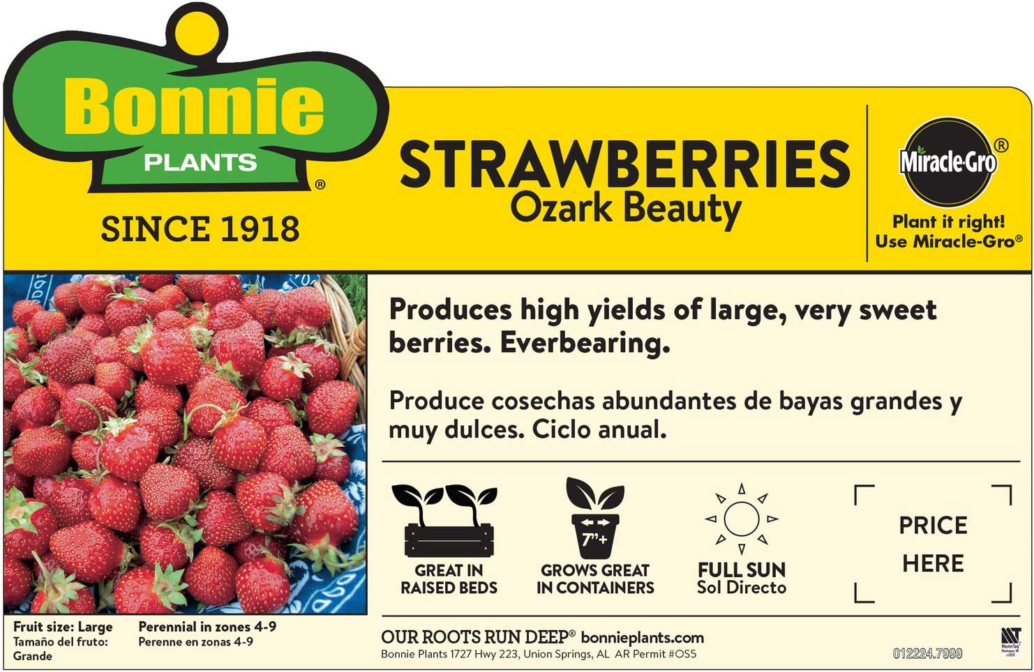 Patio, Lawn & Garden Gardening Red Bonnie Plants 202117 Ozark ...