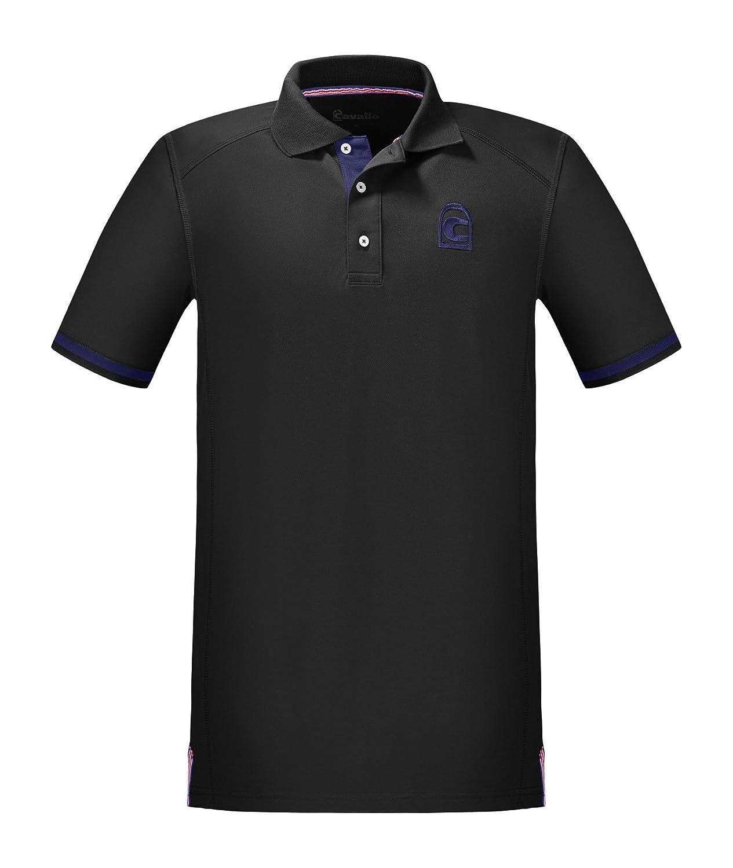Cavallo Poloshirt Kato schwarz FS 2018