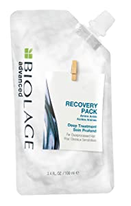 BIOLAGE Advanced Recovery Deep Treatment Pack Multi Use Hair Mask For Chemically Damaged & Over-Processed Hair Vegan 3.4 Fl. Oz, 3.4 fl. oz.