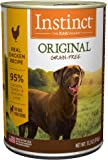 Nature's Variety Instinct by Original Grain Free Recipe Natural Wet Canned Dog Food