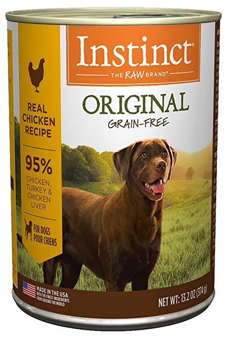 Amazon instinct original grain free real chicken recipe instinct original grain free real chicken recipe natural wet canned dog food by natures variety forumfinder Images