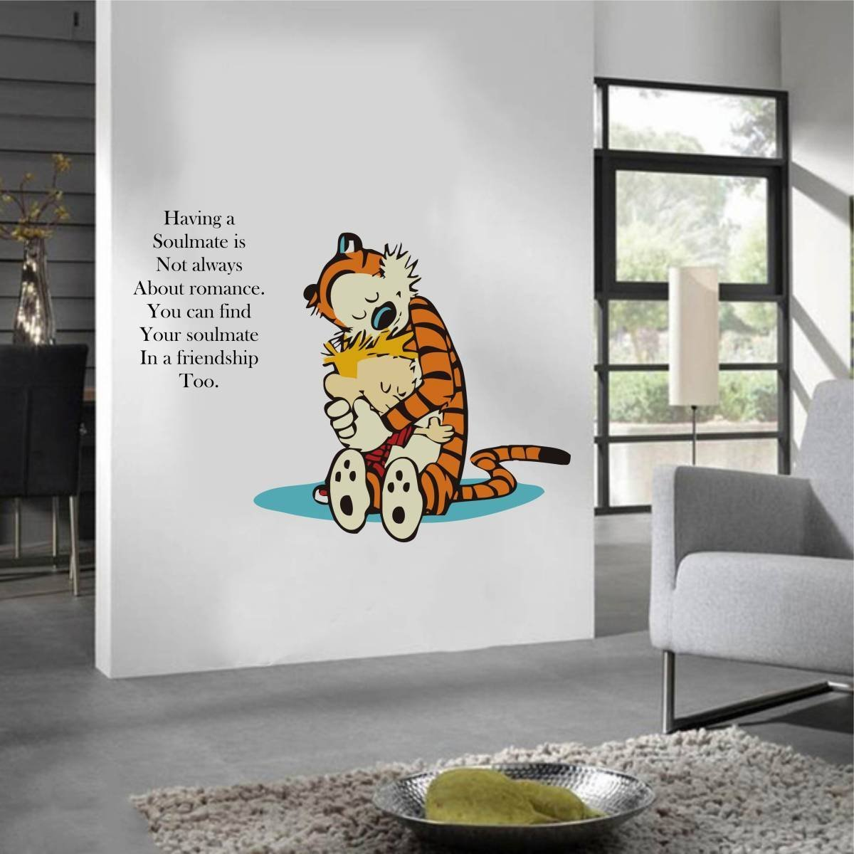 Zigrocket Calvin And Hobbes Quote Diy Wall Sticker Removal Vinyl Home Decor Wall Decor Decal Wall Murals 75 X 100 Cm