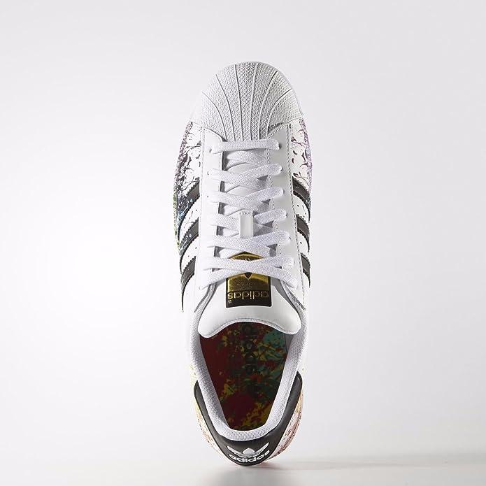 size 40 ff8cd e261c Amazon.com   adidas Superstar LGBT Pride Pack D70351 White Black Rainbow  Men s Shoes Size 13   Fashion Sneakers