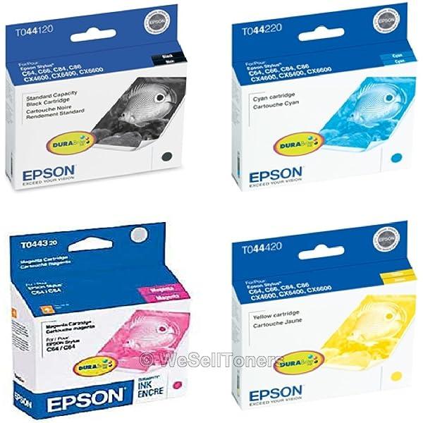 Epson T044120 Black Ink Cartridge CompAndSave Replacement for Epson Stylus C84WN Printer Inkjet Cartridge