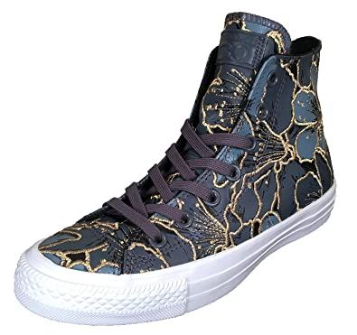 4be02c39f8a718 Converse x PatBo Women s Chuck Taylor All Star Sneakers Gold Flowers (6 US  Women)