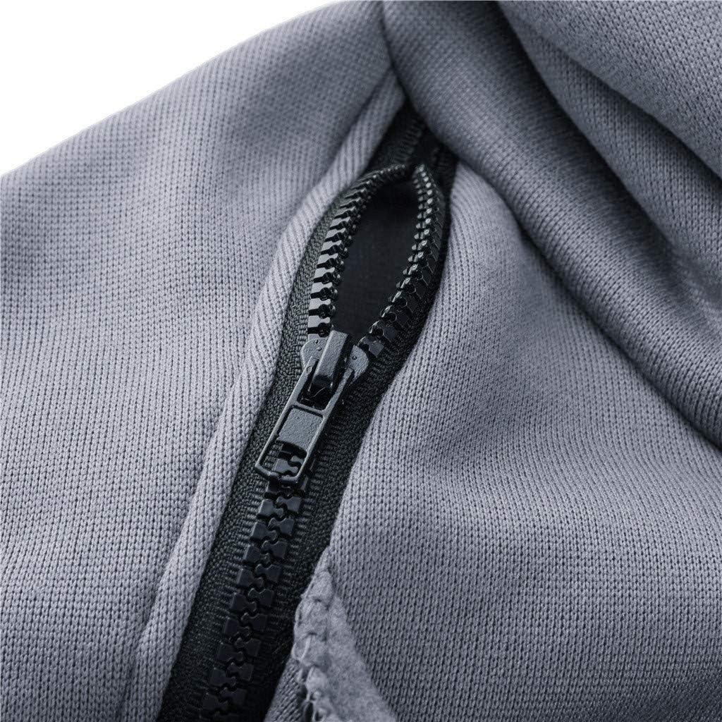 JURTEE Femme Enceinte Manteau De Grossesse Polaire Zipp/é Sweat-Shirt /à Capuche Manteau Hoodie Chaud Automne Hiver V/êTements Grossesse avec Sac De Pu/éRiculture