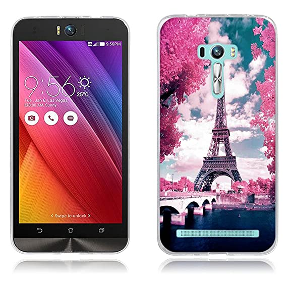 new product 74d31 302af Amazon.com: Asus Zenfone Selfie Case Cover, Full-Body Protective ...