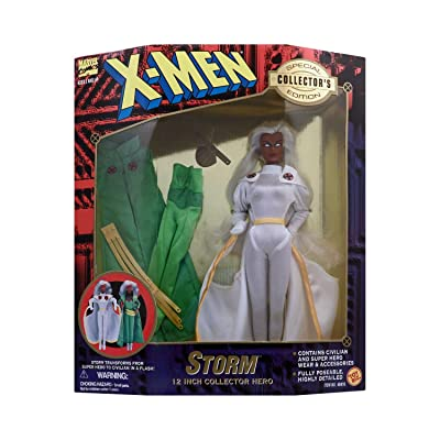 "X-Men Storm 12"" Collector Hero Action Figure: Toys & Games"