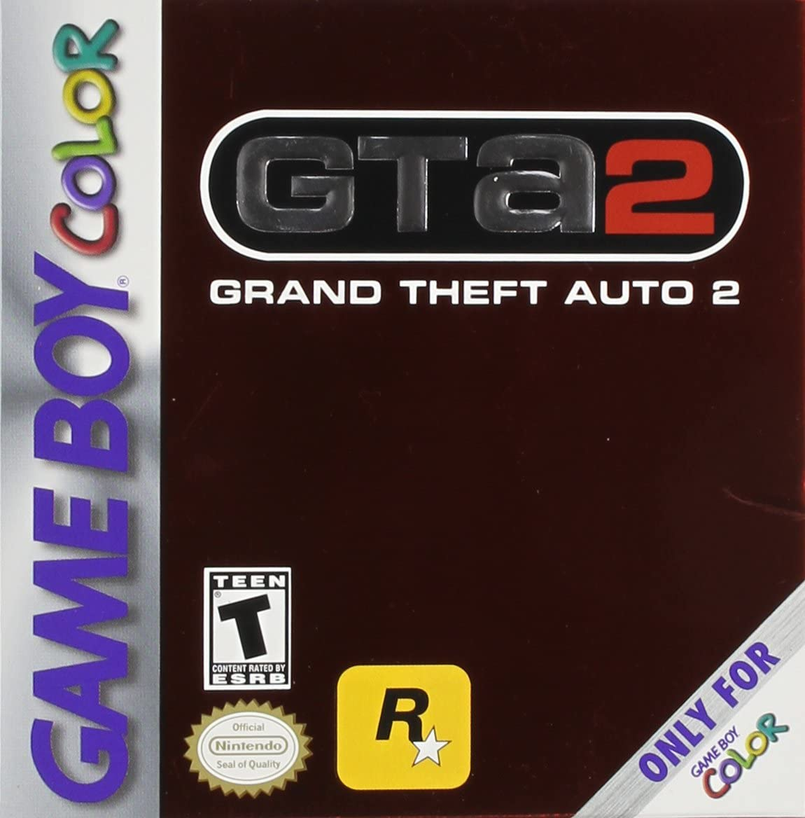 Game boy color kaufen - Amazon Com Grand Theft Auto 2 Game Boy Color Nintendo Game Boy Color Video Games