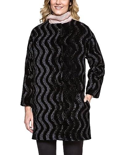 Ennywear 240041 Abrigo Brillante Con Estampado Manga Larga Para Mujeres - Hecho En La UE