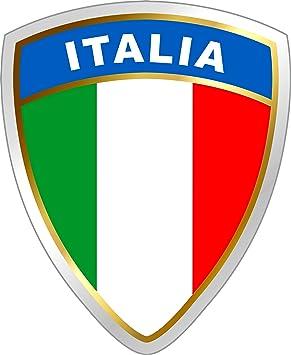 Aufkleber Italien Wappen Dimension 45 X 35 Mm Deutschland Fanartikel Olympia Schneller Versand Innerhalb 24 Stunden