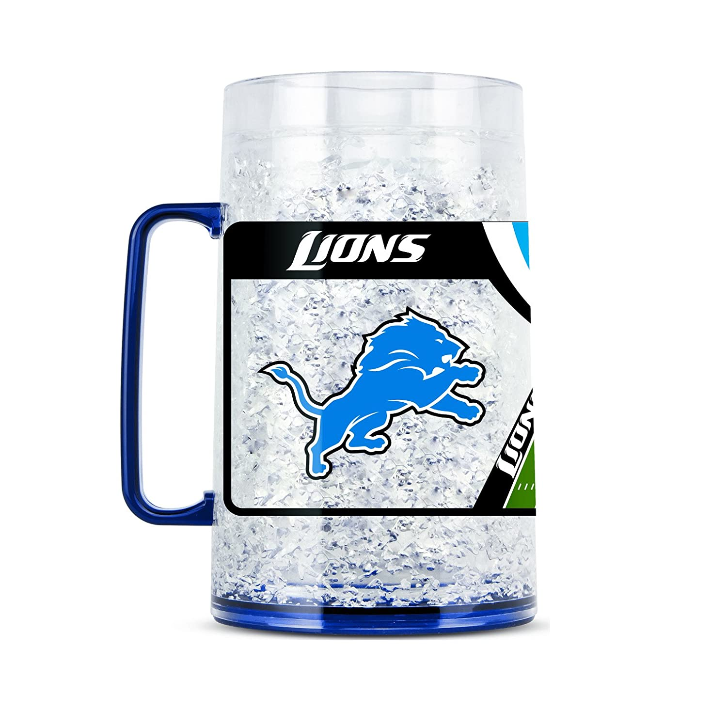 NFL Detroit Lions 38oz Crystal Freezer Monster Mug