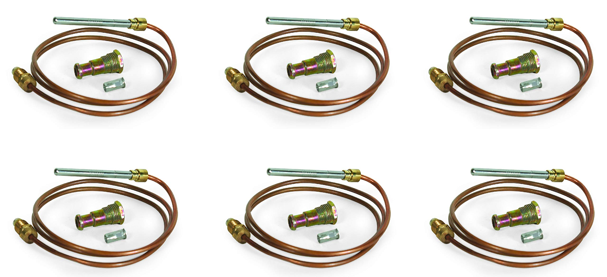 Camco 09313 30'' Thermocouple Kit (30 Inch (Pack of 6))
