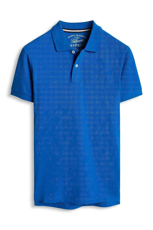 Esprit F bas co piq* - Polo Hombre, Azul (BLUE 2 431), X-Small ...