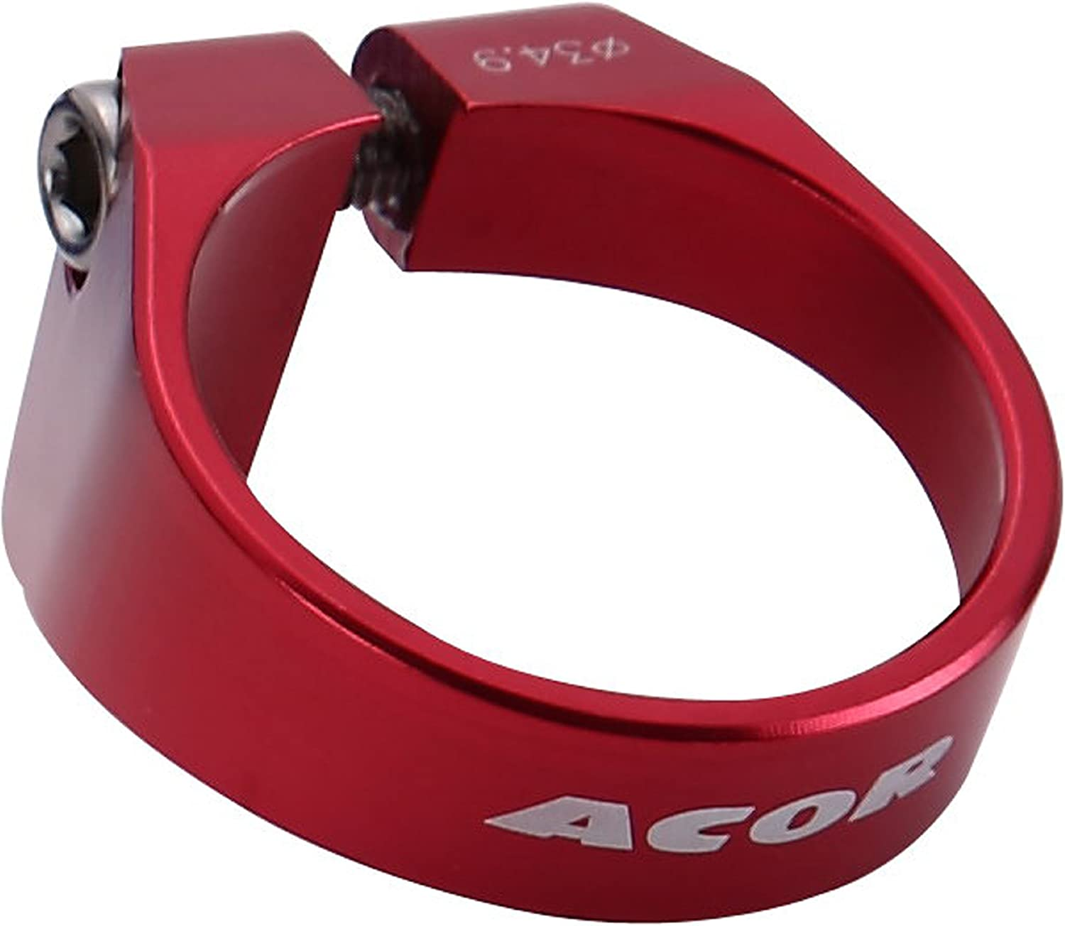 34.9mm Lightweight Alloy Seat Clamp Red