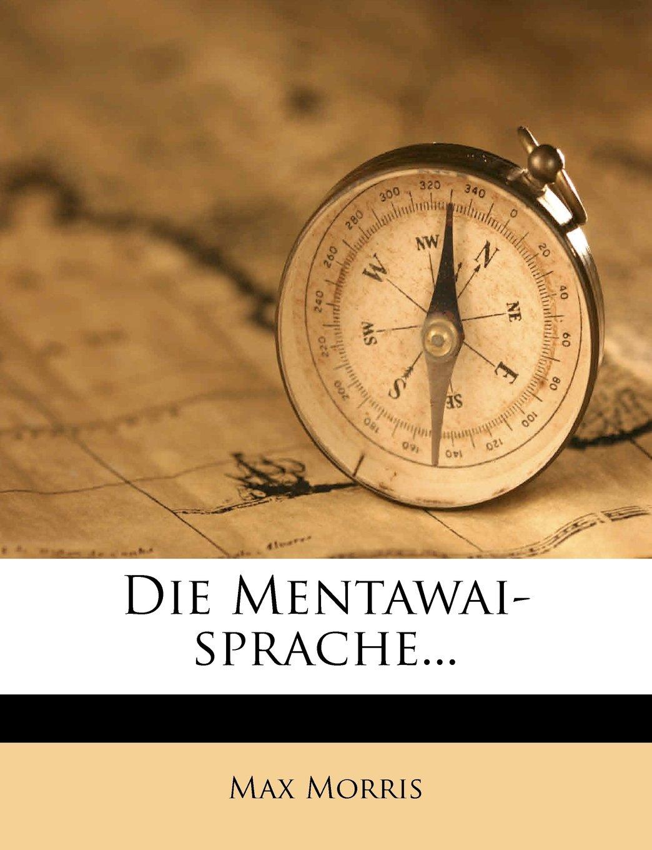 Die Mentawai-sprache... (German Edition) PDF