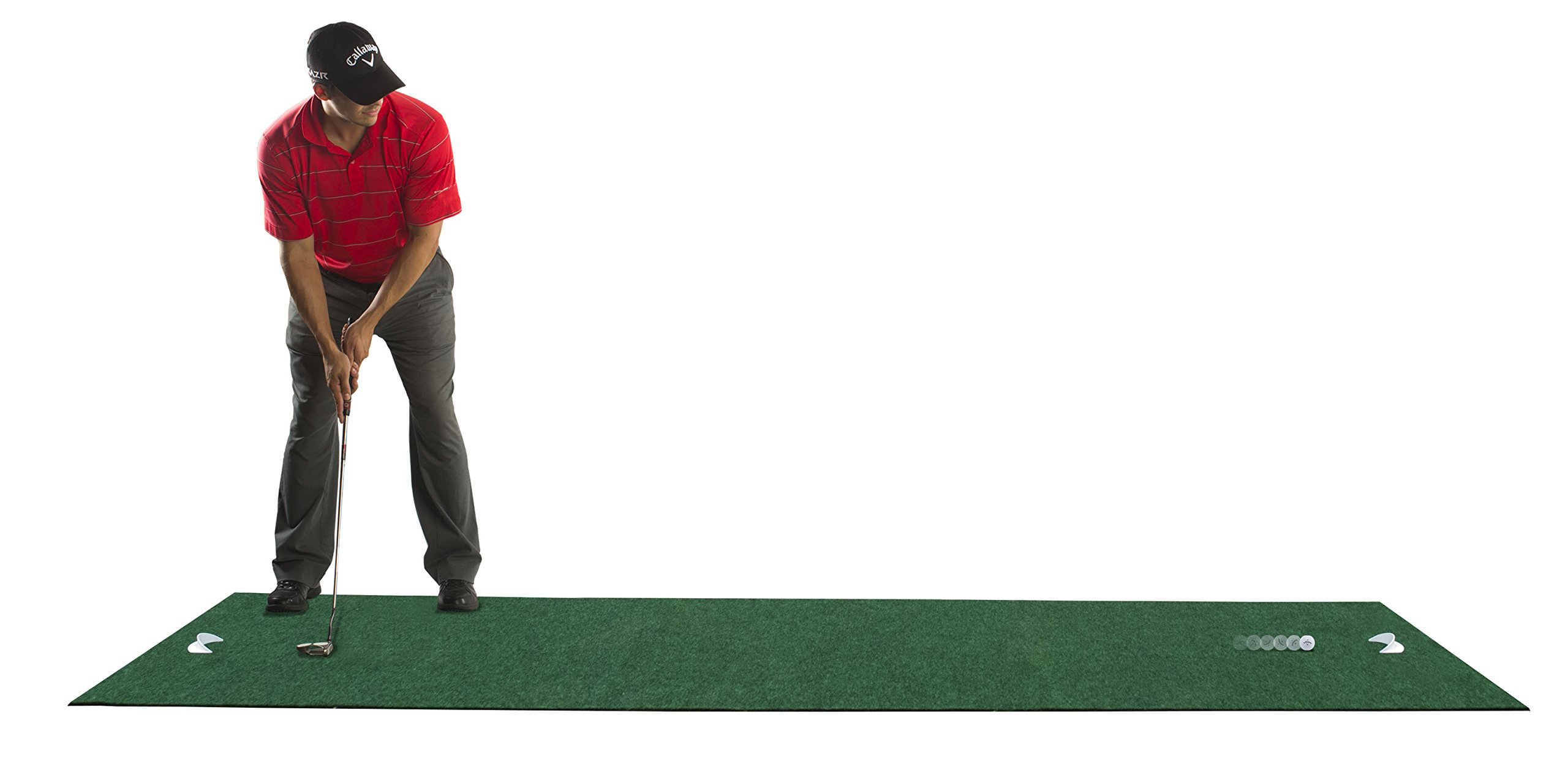 ODYSSEY Deluxe Golf Putting Mat, 11' by ODYSSEY