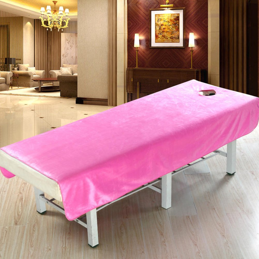 LWZY Linens Massage table sheet,waterproof sheets,spa linens/cosmetic sheets/beauty salon massage bed special sheets-A 80x190cm(31x75inch)