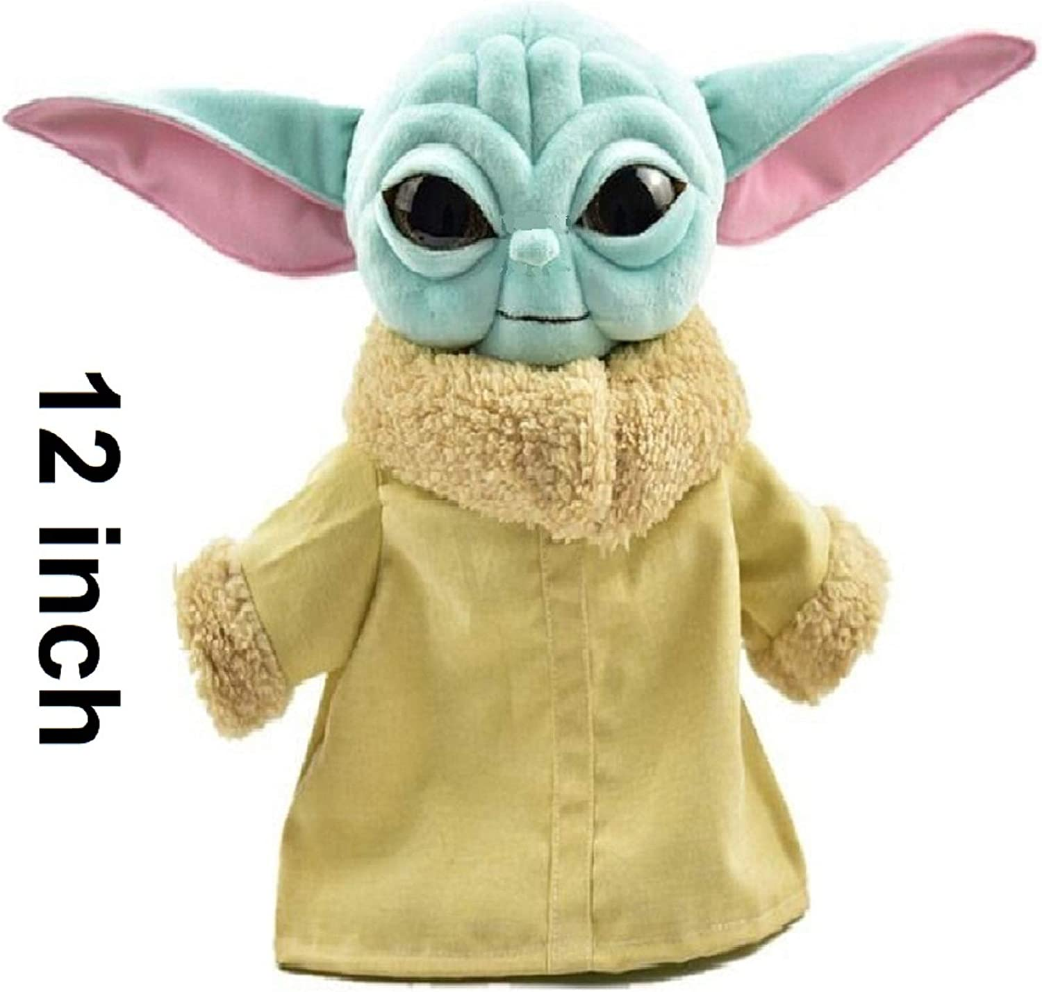 Star Wars Disney Baby Yoda Plush Toy The Baby Mandalorian Child Yoda Stuffed Doll With Removable Coat 30cm Animals Amazon Canada
