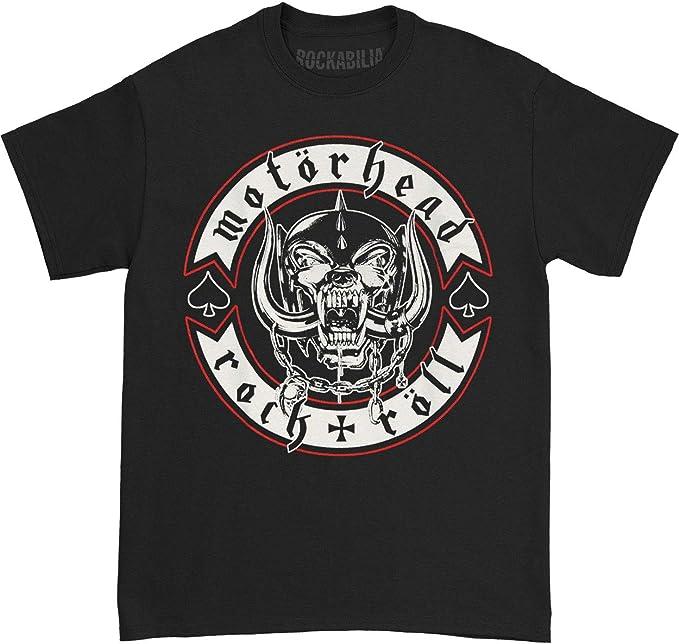 NEW /& OFFICIAL! Motorhead /'Biker Badge/' T-Shirt