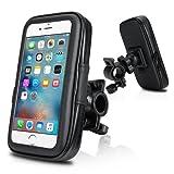 Waterproof Bike Mount, Wotek Universal Waterproof Case Bike Mount Holder Compatible with Smartphones with 4.5 to 5.0 inch Displays For iPhone 6 6s, Samsung Galaxy S5 Mini , Samsung Galaxy S4 (4.5''-5.0'')
