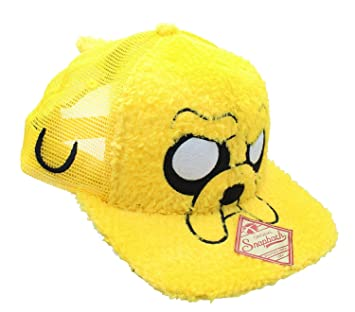 informazioni per qualità eccellente online in vendita Adventure Time Jake Furry Snapback Baseball Cappello: Amazon.it ...