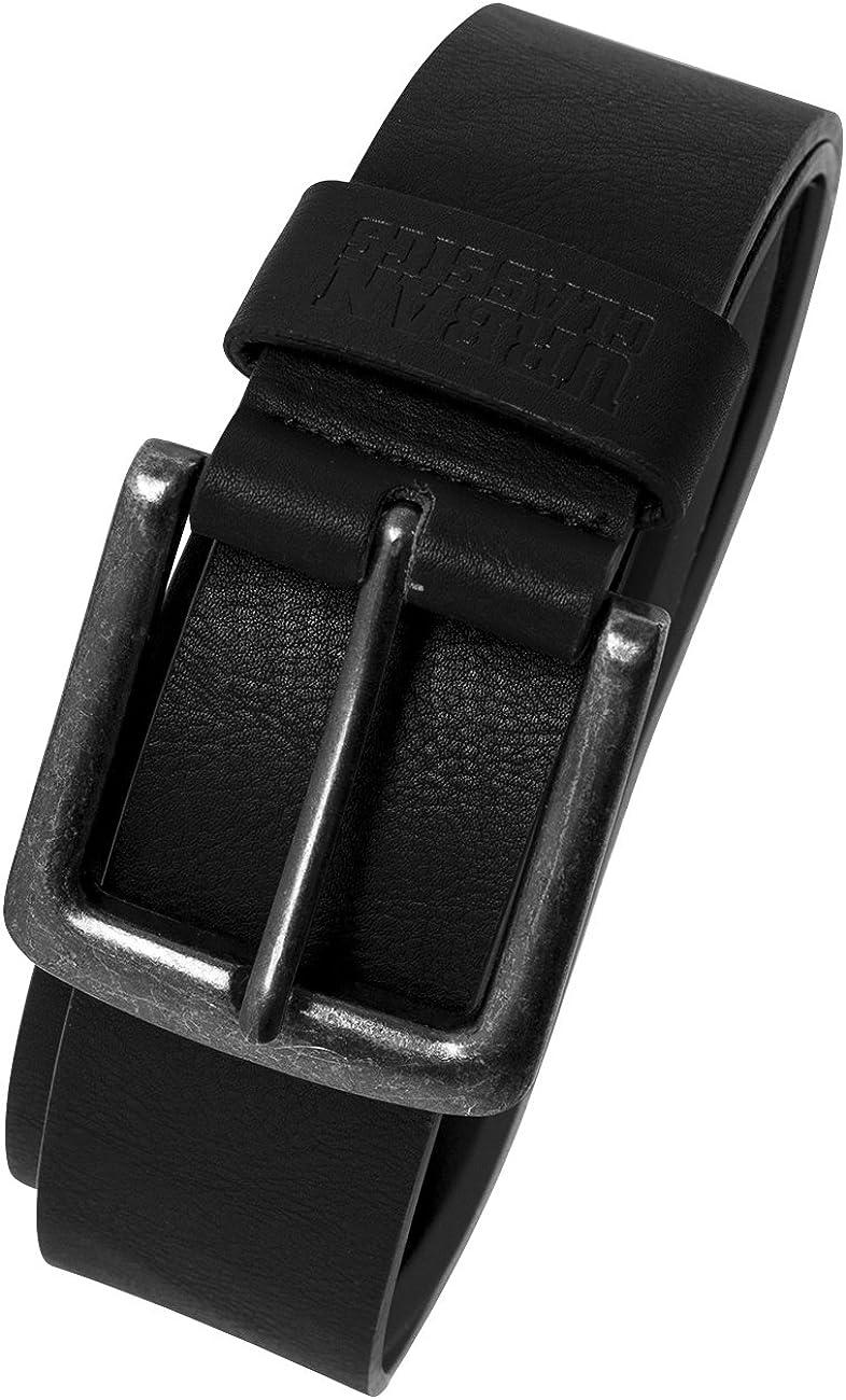 Urban Classics Leather Imitation Belt Cinturón Unisex Adulto