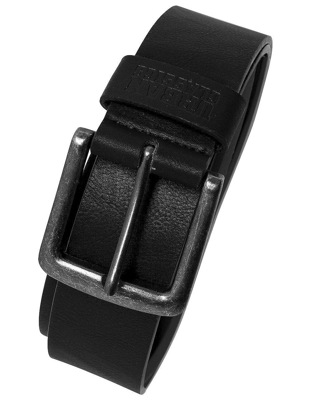 Urban Classics Leather Imitation Belt, Cinturó n Unisex Adulto Cinturón Unisex Adulto TB1288