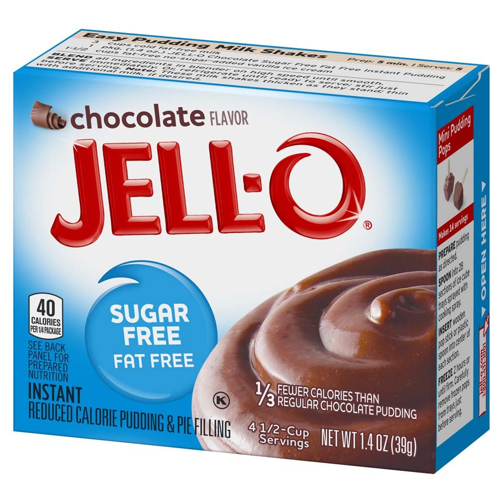 21+ Sugar Free Pudding Nutrition Facts Background