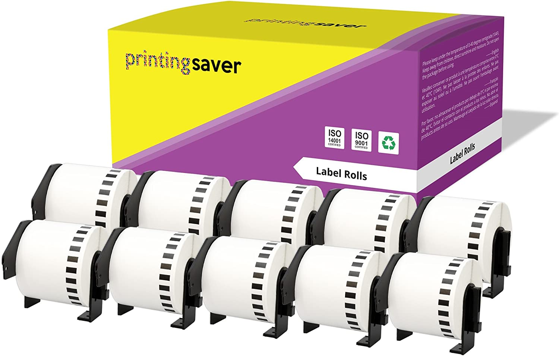 pour Brother P-Touch QL-500 QL-550 QL-560 QL-570 QL-650TD QL-700 QL-720NW QL-1050 QL-1060N 800 /Étiquettes par rouleau Printing Pleasure 20x Compatible DK-11209 29mm x 62mm /Étiquettes dadressage