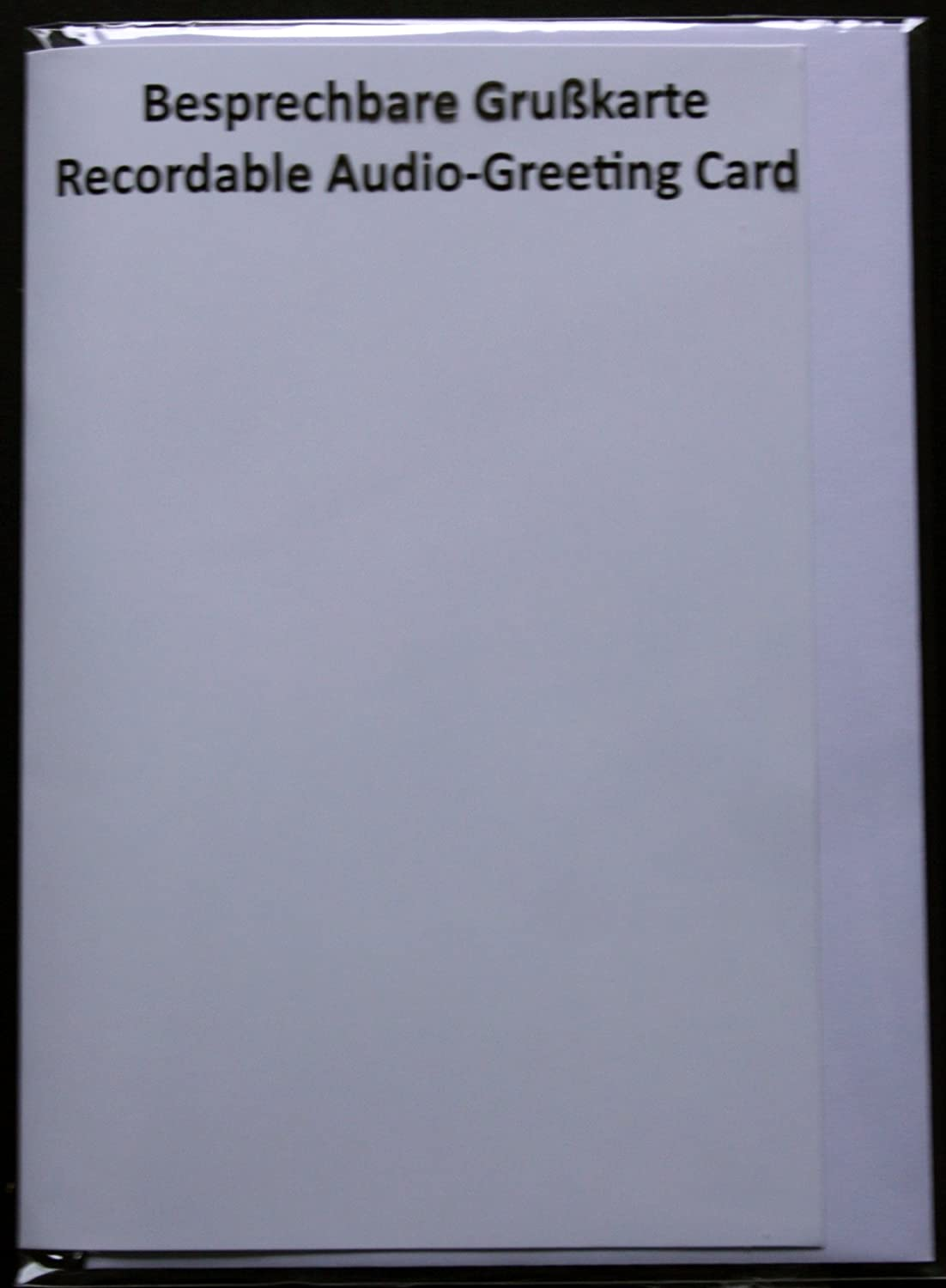 Recordable audio greeting card 120 seconds white amazon recordable audio greeting card 120 seconds white amazon kitchen home kristyandbryce Gallery