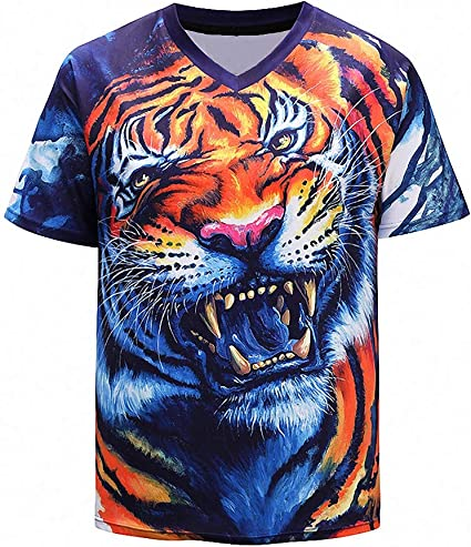 Dawery Unisex 3D T-Shirt T Shirts Men Women 3D T Shirts Male Funny Printed Tops Short Sleeve T-Shirts Unisex Tees Fashion Camiseta