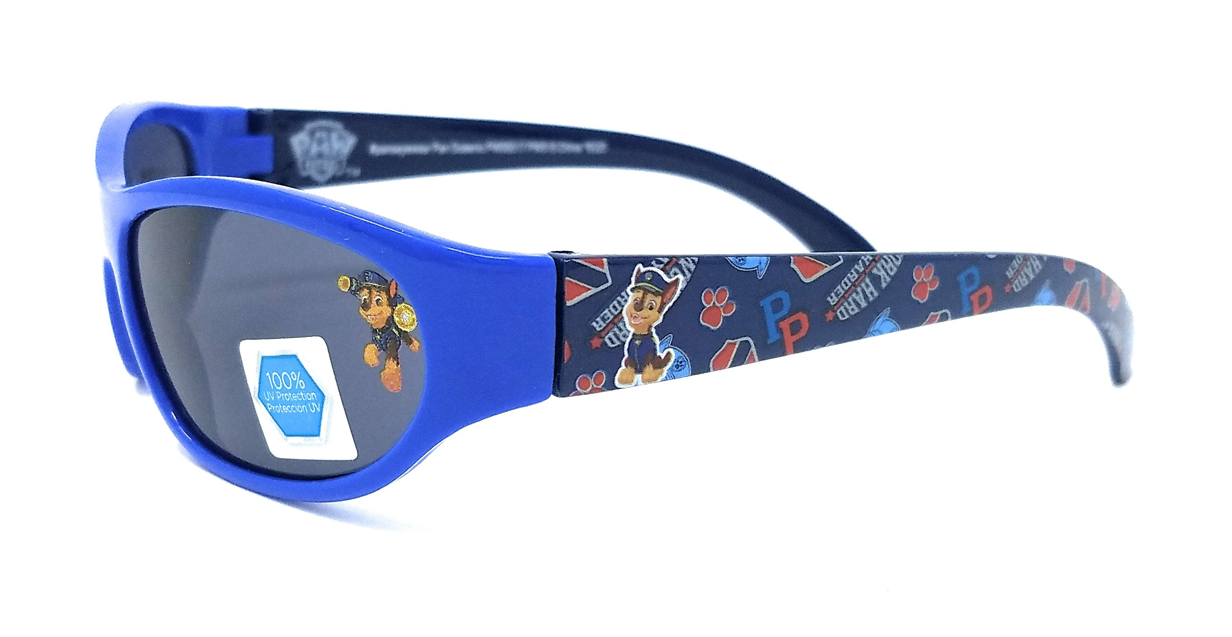 Nickelodeon Paw Patrol Boy's ''Chase'' Sunglasses in Blue - 100% UV Protection
