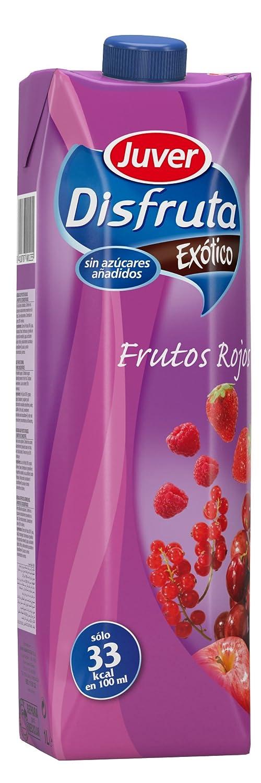Juver - Disfruta Exótico frutos rojos, 1 L: Amazon.es: Alimentación y bebidas