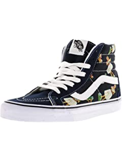 2b1fba7832 Vans Unisex Adults  Sk8-hi Reissue Leather Trainers