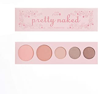 product image for 100% PURE Pretty Naked Palette (Fruit Pigmented), Everyday Makeup Palette w/ 3 Eyeshadows, Blush, Face Highlighter, Natural Makeup Look, Vegan Makeup (Soft, Neutral Tones)