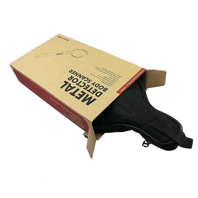 all-sun detector de metales de mano de seguridad varita ts80 a: Amazon.es: Bricolaje y herramientas