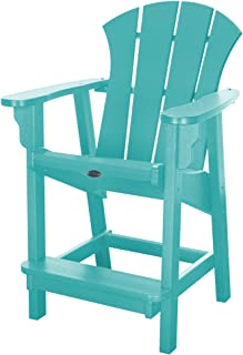 product image for Nags Head Hammocks Sunrise Counter Height Chair, Turquoise