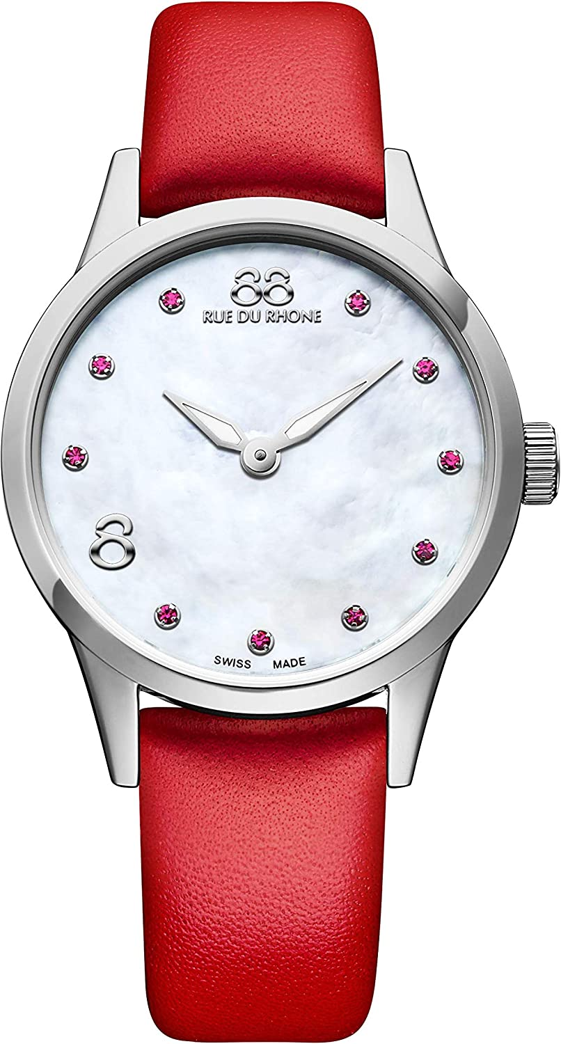 88 Rue du Rhone Swiss Quartz Rive Collection Women's Watch 87WA183206 Mother of Pearl Dial