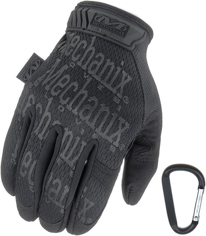 Mechanix Wear + RT Outdoor Use guantes Mechanix uso original, respirable y la abrasión + Gear Guante mosquetón En Negro Coyote Multicam S M L XL (S encubierta): Amazon.es: Ropa y accesorios