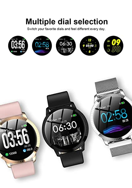Reloj Inteligente VS V11 Q8 P68 Actividad De Vidrio Templado ...