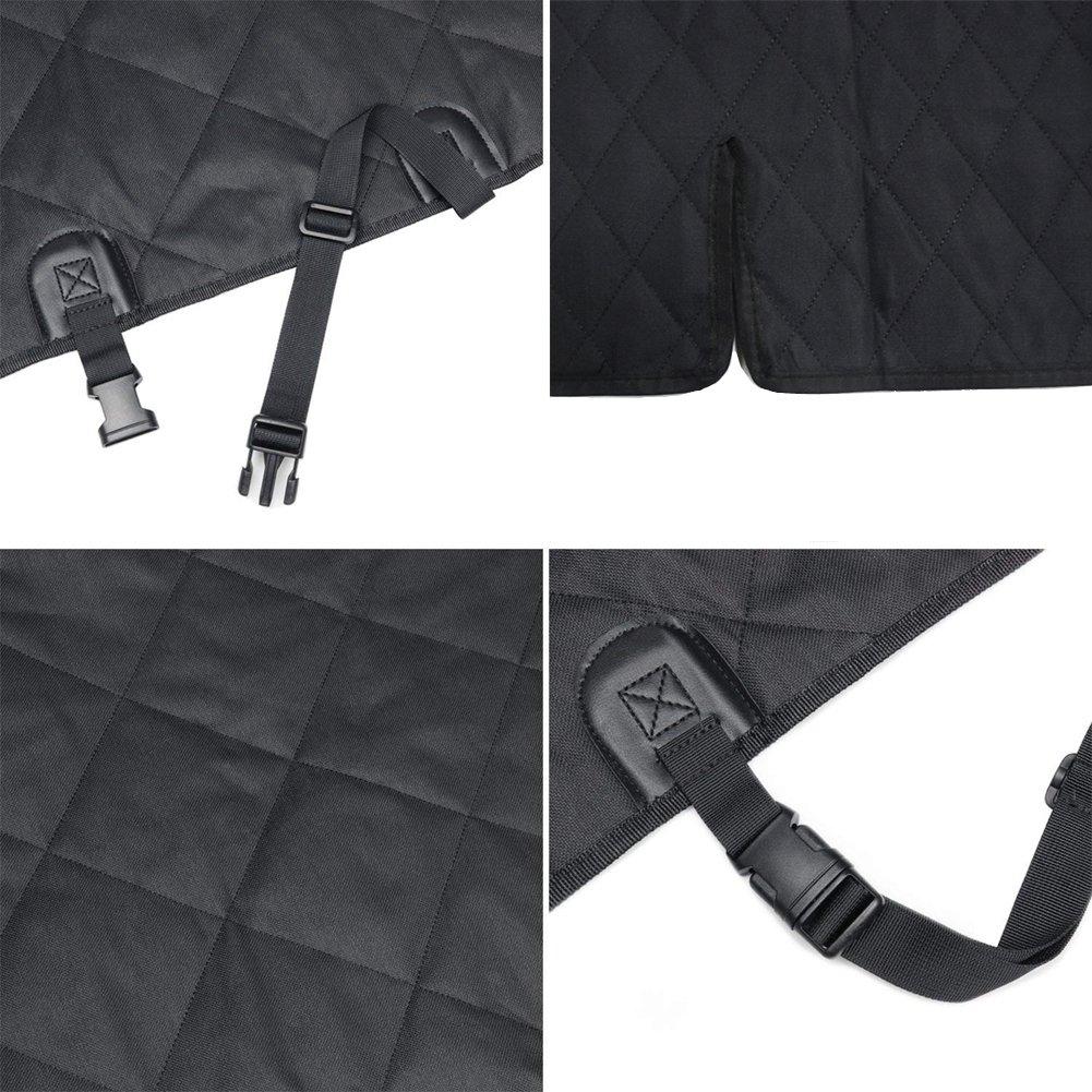 XL HONCENMAX Grande Perro Veh/ículo Protector de Maletero Cubierta del Revestimiento de Carga Mascota Cubierta de Asiento Estera Antideslizante Impermeable Universal para Camionetas SUV