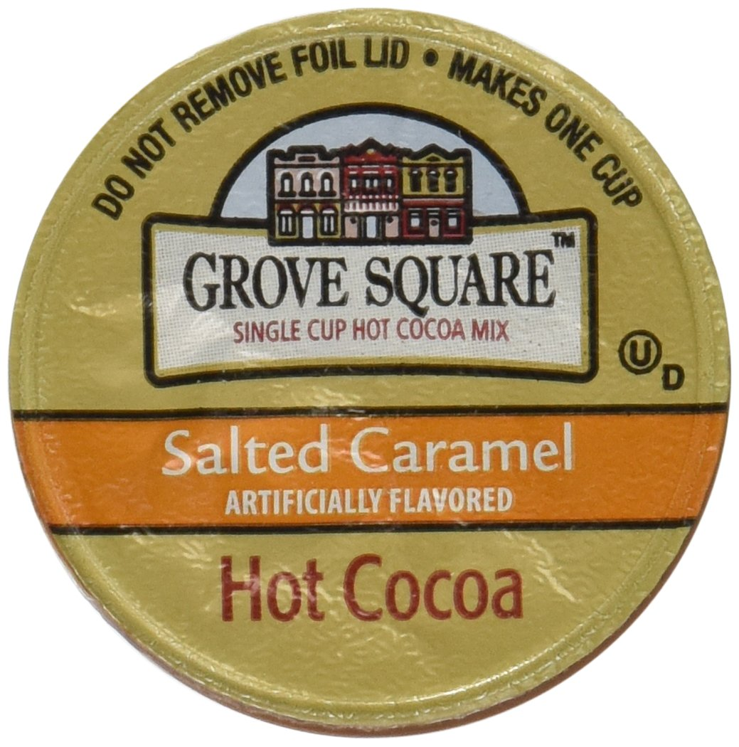 Amazon.com : Grove Square Salted Caramel Hot Cocoa, 12 Single ...